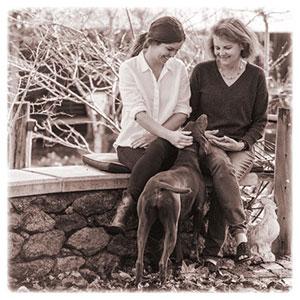 Robyn and Jess Longley