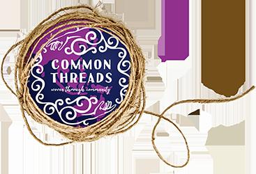 Common Threads Woven Through Community Logo